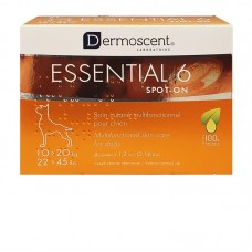Dermoscent Essential 6 Spot-On Skin Care Dogs (10-20kg) (4 Tubes)