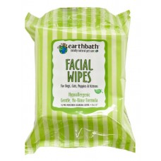 Earthbath Facial Wipes For Dogs & Cats 25pcs
