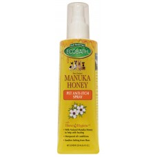 EcoBath Manuka Honey Pet Anti-Itch Spray for Dogs & Cats 250ml
