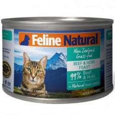 Feline Natural Beef and Hoki Feast 170g