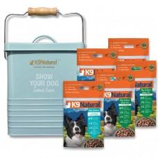 K9 Natural New Zealand Freeze Dog Dried Food 500g (5 Packs)