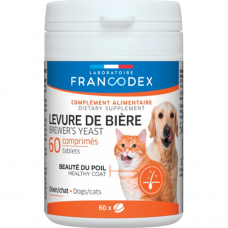 Francodex Brewer's Yeast (Healthy Coat) for Dogs & Cats 60's