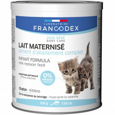 Francodex Milk Replacer feed Kitten Formula for Cats 200g