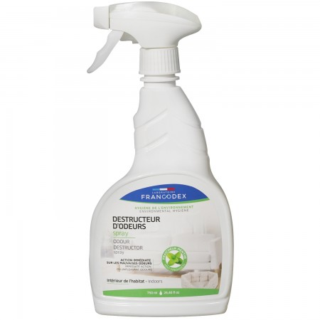 Francodex Indoor Odour Destructor Spray for Dogs & Cats 750ml