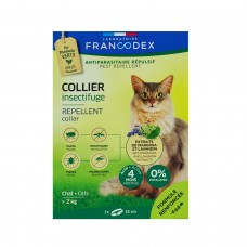 Francodex Insect Repellent Collar for Adult Cats