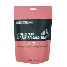Freeze Dry Australia Freeze Dried Salmon Belly Dogs & Cats Treats 100g