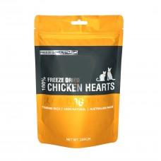 Freeze Dry Australia Freeze Dried Chicken Hearts Dogs & Cats Treats 100g