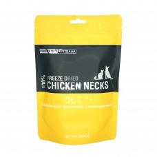 Freeze Dry Australia Freeze Dried Chicken Necks Dogs & Cats Treats 100g
