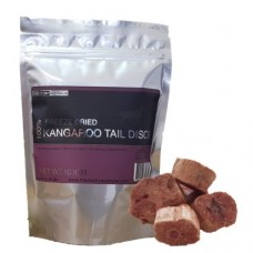 Freeze Dry Australia Freeze Dried Kangaroo Tail Discs 100g (Buy 2 Packs, Free 1 Pack)
