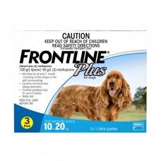 Frontline Plus Tick & Flea for Medium Dogs  (10kg - 20kg ) 3 pack
