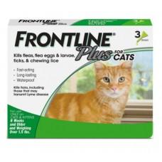Frontline Plus Tick & Flea for Cats (3 doses)