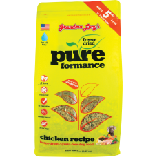 Grandma Lucy Pureformance Freeze Dried Chicken Dog Food 1lb