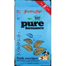 Grandma Lucy Pureformance Freeze Dried Fish Dog Food 1lb