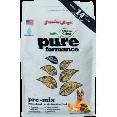 Grandma Lucy Pureformance Freeze Dried Premix Dog Food 3lbs