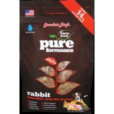 Grandma Lucy Pureformance Freeze Dried Rabbit Dog Food 3lbs