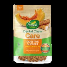 Happi Doggy Dental Chew Care Digestive Support Pumpkin & Mountain Yam Dogs Treats (2.5 Inch) 150g