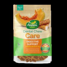 Happi Doggy Dental Chew Care Digestive Support Pumpkin & Mountain Yam Dogs Treats (4 Inch) 150g