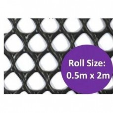 Kenford Multi-purpose HDPE Mesh Diamond 8mm 003 Black