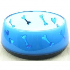 AFP Non-Skid Bowl Medium Blue Dogbone