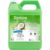 TropiClean Lime & Coconut (DeShedding) Shampoo For Dogs 1 Gallon