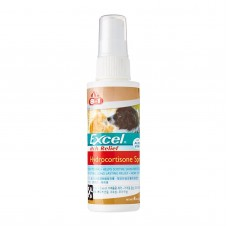 8 in 1 Excel Itch Relief Hydrocortisone Spray with Aloe Vera For Dogs & Cats 118ml