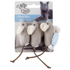 AFP Classic Comfort 3 Blind Mice Cat Toy