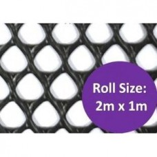 Kenford Multi-purpose HDPE Mesh Diamond 8mm 004 Black