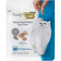 Fancy Feast Purely Natural Hand-Flaked Tuna Treats 30g