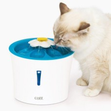 Catit Flower Fountain with LED Nightlight For Dogs & Cats 3L