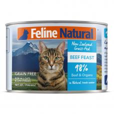 Feline Natural Beef Feast 170g