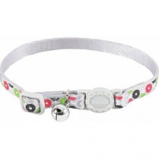 Zolux Arrow Nylon Reg Collar Silver
