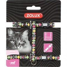 Zolux Arrow Nylon Reg Harness Black