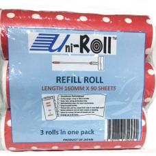 Uni-Roll Refill 3's