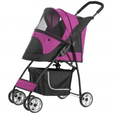 Pettyman Pet Stroller (869) Pink