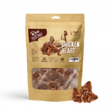 Absolute Bites Raw Freeze Dried Chicken Heart For Dogs & Cats Treats 65g