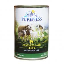 Alps Natural Grass Fed Lamb Recipe Dog Wet Food 400g