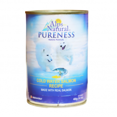 Alps Natural Cold Water Salmon Recipe Dog Wet Food 400g