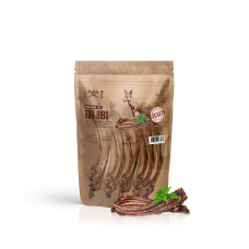 Absolute Bites Air Dried Kangaroo Ribs Dog Treats 100g