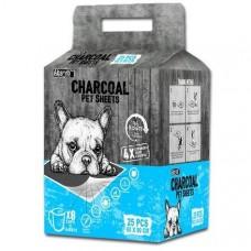 Absorb Plus Charcoal Pet Sheets (Large) 25pcs
