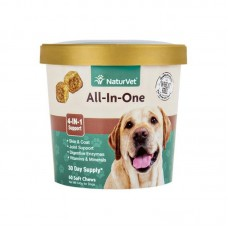 NaturVet All-In-One for Dogs 60 Soft Chews
