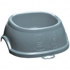 Stefanplast Break Square Bowl 1 Steel Blue