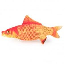 Dooee Catnip Pollock Fish Cat Toy (20cm)