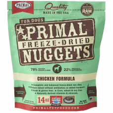 Primal Chicken Nuggets Freeze Dog Dried Food 397g (2 Packs)