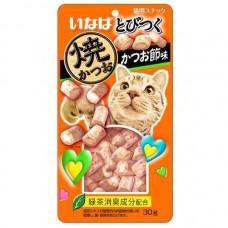 Ciao Soft Bits Tuna & Chicken Fillet Dried Bonito Flavor 25g (3 Packs)