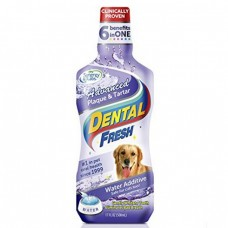 Dental Fresh Advanced Plaque & Tartar Water Additive For Dogs 17oz