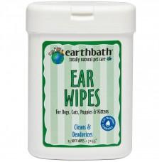 Earthbath Ear Wipe For Dog & Cat 25pcs