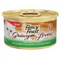Fancy Feast Gravy Lovers Salmon in Seared Salmon Gravy 85g Carton (24 Cans)