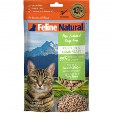 Feline Natural New Zealand Cage-Free Chicken & Lamb Feast Cat Food 320g