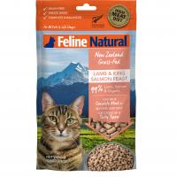 Feline Natural New Zealand Grass-Fed Lamb & King Salmon Feast Freeze-Dried Cat Food 100g