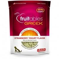 Fruitables Greek Strawberry Yogurt With Oatmeal Dog Treat 7oz